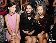 Honor Front Row -New York Fashion Week Spring 2014