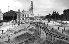 Estação da Luz em 1925
