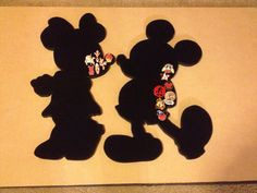 Disney Mickey & Minnie Mouse pin displays. Hold by PinDisplaysPlus