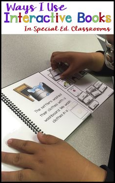 I love using interactive books to adapt literacy and language activities in special education.  I gathered all my posts of how I use them from literacy to using AAC.  Includes posts with IEP goals, posts for seasonal resources, and ways to increase engagement in special education classrooms as well as teach targeted vocabulary.