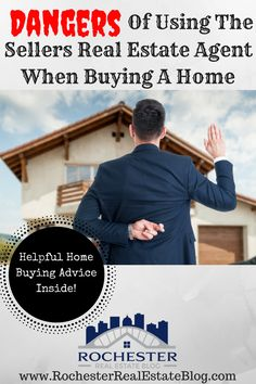 Should I Use The Sellers Real Estate Agent To Buy A Home - Learn About The Dangers Of Using A Listing Agent http://www.rochesterrealestateblog.com/use-sellers-real-estate-agent-buy-home/