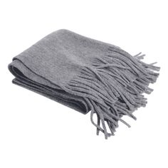 Retro Soft Fringed Blanket Long Shawl Scarf Gray (203.160 IDR) ❤ liked on Polyvore featuring accessories, scarves, zaful, fringe shawl, long scarves, retro scarves, gray scarves and grey scarves
