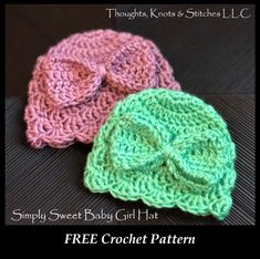 Where has January gone? I feel like 2020 has just begun, and it's almost February! With February Crochet Baby Hats Free Pattern, Crochet Baby Hat Patterns, Crochet Baby Beanie, Crochet Bebe, Baby Girl Crochet, Free Crochet, Newborn Crochet Hats, Preemie Crochet, Kids Crochet
