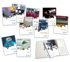 Catálogo de Produtos - T. Janér - Capa, folders e lâminas do novo catálogo de produtos