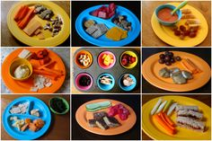 Change of Pace- Eating Real Food: Feeding Your Kids Toddler Finger Foods, Healthy Toddler Meals, Toddler Lunches, Healthy Family Meals, Kids Meals, Healthy Snacks, Toddler Food, Baby Eating, Lunch Snacks