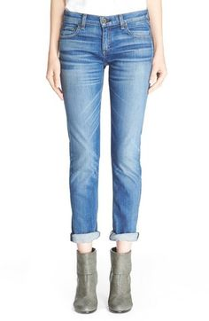 rag & bone/JEAN 'The Dre' High Rise Slim Fit Boyfriend Jeans (Stoke)