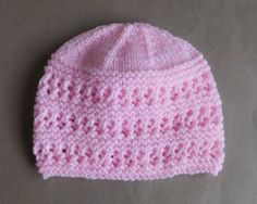 Jasmine Baby Hat              Jasmine Baby Hat   for a baby of 0 – 3 months                Size:               Width: 5½ - 6...