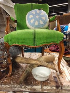 Looks like the chair we found at the country estate sale