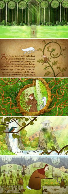 Just beautiful! Watch it. #secret_of_kells
