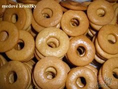 Christmas Gingerbread House, Christmas Cookies, Czech Recipes, Doughnut, Sweet Recipes, Food And Drink, Sweets, Baking, Cake