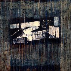 Отделение Света от Тьмы, картина 100х100 см, холст, масло