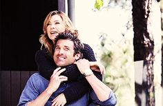 ellen pompeo and patrick dempsey tumblr | We've gone through what any relationship has gone through. We ...