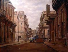 """David de la Rúa - Obra 01. Serie """"Postales de la Habana"""""""