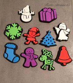 10 Moosgummi Stempel Weihnachten Advent Stift Malen Basteln Geschenk Mitbringsel  | eBay