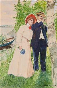 Sweethearts, by Jenny Nyström