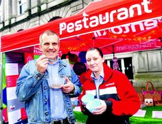Brave Aberdeen shoppers sample bug buffet - Evening Express