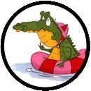 Små sagor för stora och små barn. Games For Kids, Children Games, Diy And Crafts, Education, Fictional Characters, Youtube, Short Stories, Crocodile, Games For Children
