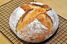 Slow rising homemade bread.
