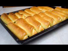 Αρτοσκευάσματα καλύτερα από ό, τι από το αρτοποιείο - YouTube Croissants, Kiflice Recipe, Bread And Pastries, Beignets, Doughnuts, Hot Dog Buns, Biscotti, Buffet, Cookies