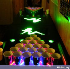 Check out these awesome beer pong tables. These include, folding / portable / inflatable / pool / floating / LED / glow in the dark / mini beer pong tables.