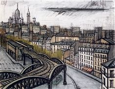 Bernard BUFFET ( 1928 - 1999 ) - Peintre Francais - Paris