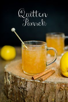 Rezept für Quittenpunsch – Leelah Loves Recipe for homemade quince punch Drinks Alcohol Recipes, Punch Recipes, Winter Drinks, Christmas Drinks, Decorating Coffee Tables, Non Alcoholic, Refreshing Drinks, Cocktail Drinks, Love Food