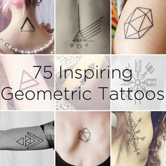 75 Graphically Gorgeous Geometric Tattoos � BuzzFe...el igual con la piramide opa lala