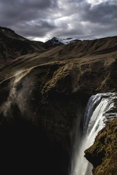 Waterfall by Roland Larsson