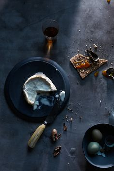 Blue food setting #foodphotography #afternoon #teatime