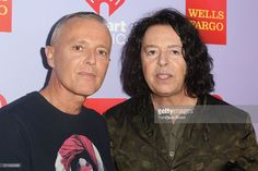 Musicians Curt Smith (L) and Roland Orzabal of Tears for Fears attend the iHeart80s Party 2016 at The Forum on February 20, 2016 in Inglewood, California.