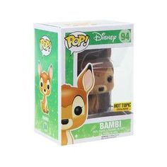 Funko Pop! Disney #94 - Finish your Disney collection here! - This pop has a Hot Topic sticker. - Perfect for any Bambi fan! - Product Dimensions: 3.75'' inches tall. - Vinyl Figure. - Age 3+