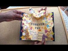 手作りポップアップカード 「Dear・・・」 - YouTube                              …