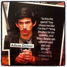 Adam Driver/ Adam Sackler in Cosmopolitan Magazine     #GIRLS