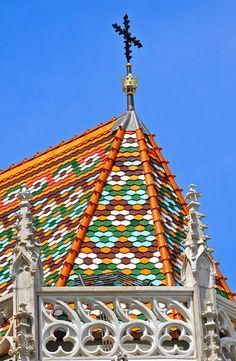 Matthias Church, Budapest - Majolica roof