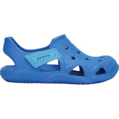 Crocs Kids' Swiftwater Wave Sandals, Blue