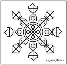 Это равнозначный (8 лучей) агисхьяльм, как стальной шар встает защитой вокруг владельца, и помимо Силы Рун на защиту пробуждает родовые Силы Предков с усилением и концентрацией самой защиты и этих …