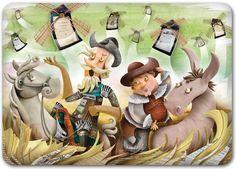 Don Quijote de la Mancha, -