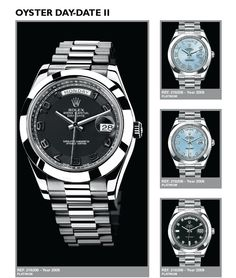 """OYSTER DAYDATE II FROM """"TOTAL ROLEX""""  http://www.mondanionline.com/total_rolex-17.php"""