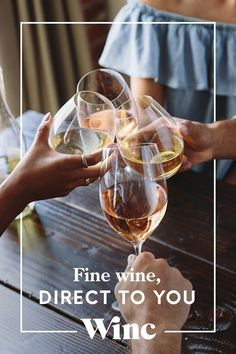 Sign-up for Winc! We make great wine. You enjoy great wine. We are meant for each other. Discover your personalized wine recommendations from Winc today!