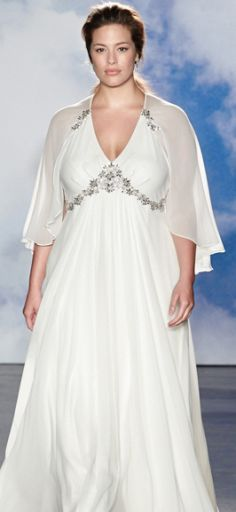 Plus-Size Wedding Dresses  6 Do s and Don ts for Plus-Size Silhouettes 71b6f3cacc18