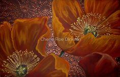 Orange Poppies by Cherie Roe Dirksen