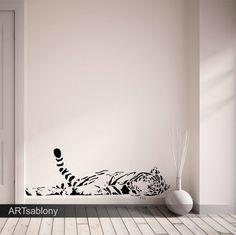 (3698x) Šablóna na maľovanie - Tiger   ARTSABLONY.SK