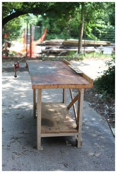 Unbelievable - Must See Before and After of this old workbench. I can't believe what it is used for now