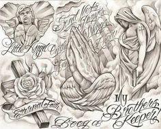 Chicano Tattoos By Gatunoman Boog Tattoo, Chicano Tattoo Drawings, Art Chicano, Body Art Tattoos, Tattoo Flash, Chicano Tattoos Lettering, Chicano Style Tattoo, Forearm Sleeve Tattoos, Men Tattoos