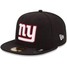 New Era New York Giants Black 59FIFTY Fitted Hat b69eba088