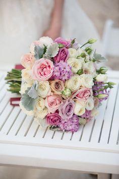 Multi Colored Floral Bouquet.