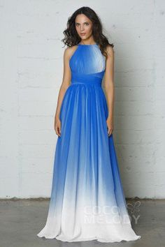 Find beautiful chiffon long bridesmaid dresses in the latest styles for every figure. Shop cheap long bridesmaid dresses at affordable prices by Cocomelody.Princess Blue