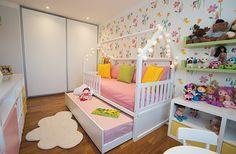 A Camila já queria reformar o quarto da filha fazia tempo, principalmente porque a hora de trocar o berço pela cama estava se aproximando. A coragem veio q