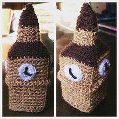 mennamohey:: Big Ben. #artkhanaexhibition #1920s #timemachine #crochet #amigurumi #crochetersofinstagram #crochetaddict #Bigben #london