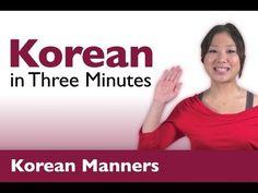 Learn Korean - Say Thank You & You're Welcome in Korean. #Korea #Seoul #Korean
